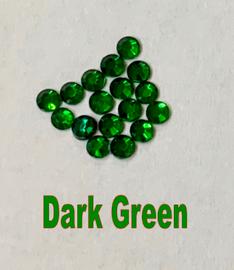 Green (Dark) (Emerald) 3mm 10ss Premium Quality Loose Hotfix Rhinestone