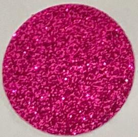 Hot Pink Fuchsia Glitter Vinyl Sheet Heat Transfer