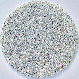 Silver Glitter Vinyl Sheet Heat Transfer