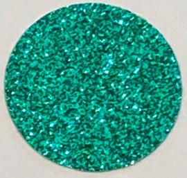 Emerald Green Glitter Vinyl Sheet
