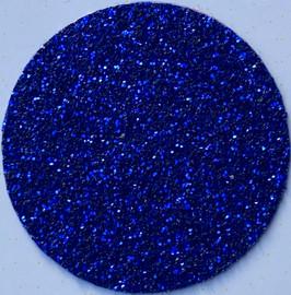 Royal Blue Glitter Vinyl Sheet