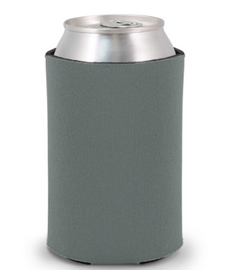 Charcoal - Plain Koozie or Can cooler (KZCH)