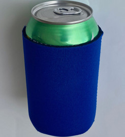 Navy/Dark Blue - Plain Koozie or Can cooler