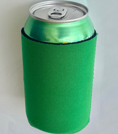 Green - Plain Koozie or Can cooler