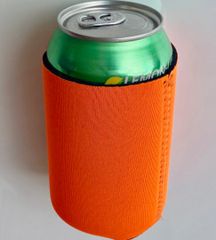 Orange - Plain Koozie or Can cooler