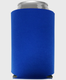 Royal Blue - Plain Koozie or Can cooler