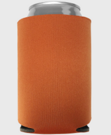 Texas Orange - Plain Koozie or Can cooler