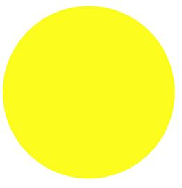 Sun Yellow - PU Vinyl Sheet/Roll HTV