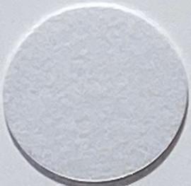 White Super FLOCK Vinyl Sheet