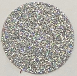 Holo Silver Glitter Vinyl Sheet/Roll HTV