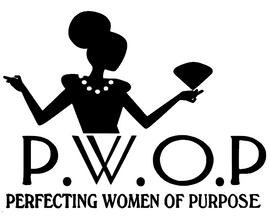(10 QTY) PWOP Diamond (PERFECTING WOMEN OF PURPOSE) - Custom Rhinestone transfer