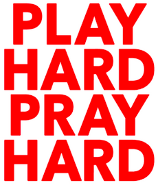 (Play Hard Pray Hard Vinyl Transfer (Red)
