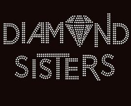 Diamond Sisters custom order Rhinestone Transfer