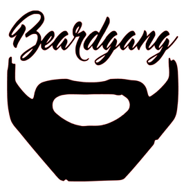 BeardGang Face custom order Vinyl Transfer (Black)