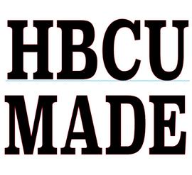 HBCU Made (text) Vinyl Transfer (BLACK)