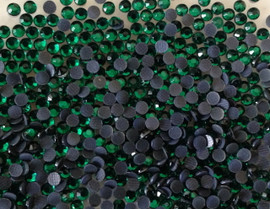 Green (Dark) Emerald 4mm 16ss Premium quality Loose Hotfix Rhinestone