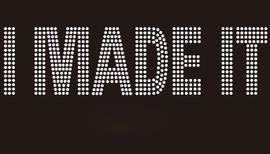 I Made It (Text)- Custom Rhinestone Transfer