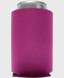 Fuchsia - Plain Koozie or Can cooler