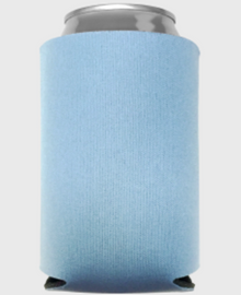 Placid Blue - Plain Koozie or Can cooler