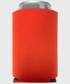 Tangerine - Plain Koozie or Can cooler