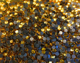 Topaz (Golden) 2mm 6ss 2cut Premium quality Loose Hotfix Rhinestone
