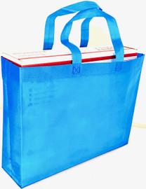 """Tote Bag 15""""W x 11.5""""H x 4""""D (Blue)"""