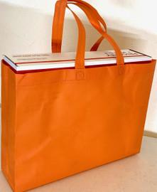 """Tote Bag 15""""W x 11.5""""H x 4""""D (Orange)"""