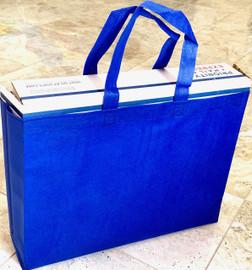 """Tote Bag 15""""W x 11.5""""H x 4""""D (Royal Blue)"""