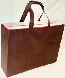 """Tote Bag 15""""W x 11.5""""H x 4""""D (Brown)"""