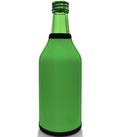Green Bottle Koozie Neoprene