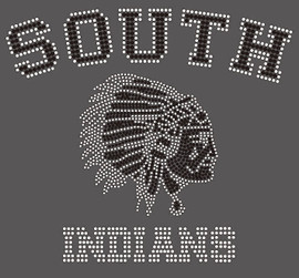 South Indians with face - custom Rhinestone Transfer