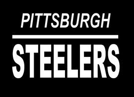 Pittsburgh Steelers custom Vinyl Transfer