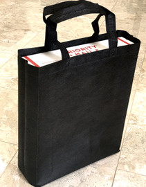 "Tote Bag (Black) 12""W x 15""H x 4""Deep"