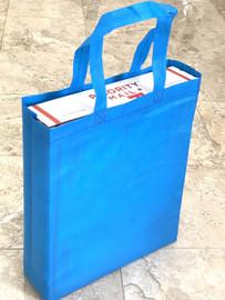 """Tote Bag 12""""W x 15""""H x 4""""D (Blue)"""