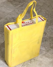 """Tote Bag 12""""W x 15""""H x 4""""D (Yellow)"""