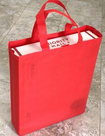 "Tote Bag 12""W x 15""H x 4""Deep (Red)"