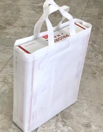 """Tote Bag 12""""W x 15""""H x 4""""D (White)"""