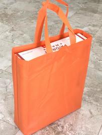 """Tote Bag 12""""W x 15""""H x 4""""D (Orange)"""
