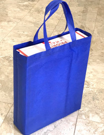 """Tote Bag 12""""W x 15""""H x 4""""D (Royal Blue)"""