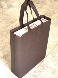 """Tote Bag 12""""W x 15""""H x 4""""D (brown)"""