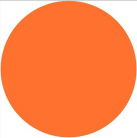Orange - PU Vinyl Sheet/Roll HTV