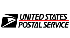 United States Postal Service custom Vinyl Transfer (Black)