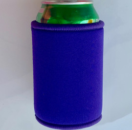 Stubby Can cooler 5mm Neoprene (Purple)