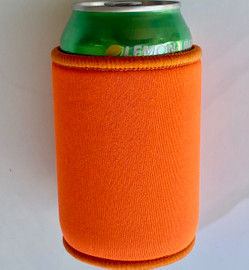 Stubby Can cooler 5mm Neoprene (Orange)