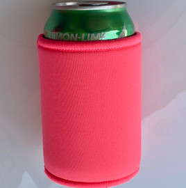 Stubby Can cooler 5mm Neoprene (Coral)