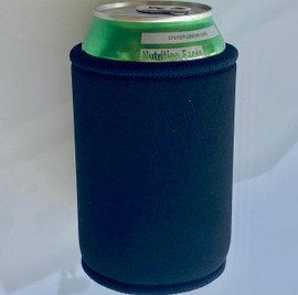Stubby Can cooler 5mm Neoprene (Black)