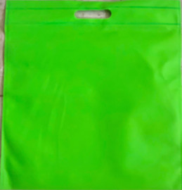 """Exhibition Tote Bag 16""""W x 15""""H x 2.5""""D (Green)"""