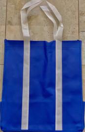 """Two Tone Tote Bag (Blue) 12.4""""W x 14""""H x 8.7""""D"""