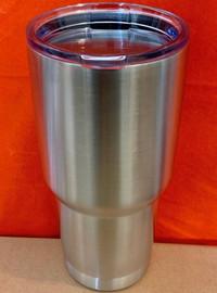Tumbler 30 OZ, double wall Travel Mug, (Stainless Steel)