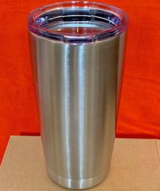 Tumbler 20 OZ, double wall Travel Mug (Stainless Steel)